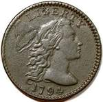 Liberty Cap US 1 cent (penny) values