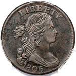 Draped Bust US 1 cent (penny) values