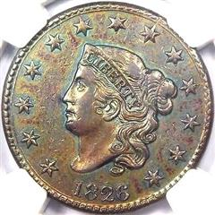 Coronet Head Usa One Cent Penny Values Pg 2 1825 To 1833