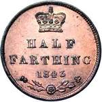 UK Half Farthing coin values