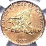 Flying Eagle US 1 cent (penny) values