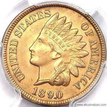 One Cent Values United States Penny Indian Head Pg 2