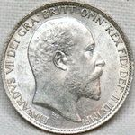 King Edward VII era UK sixpence values