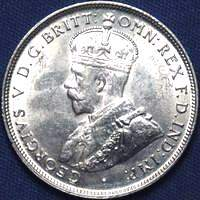 King Edward VII and King George V era Australian florin values