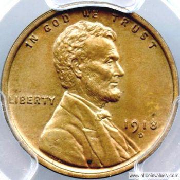 1918 penny d