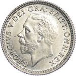 King George V era UK sixpence values