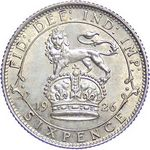 UK Sixpence coin values