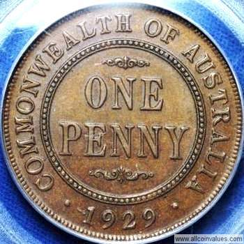gVG // Problem 1929 Choose your coin Australian Penny