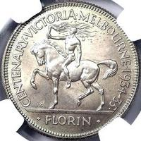 Australian commemorative florin values