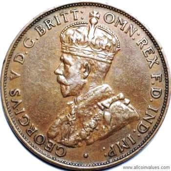 1936 Australian penny value
