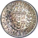 1937 New Zealand half crown