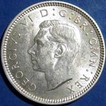 King George VI era UK sixpence values