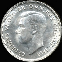 King George VI era Australian florin values