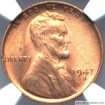 Licoln Wheat Usa One Cent Penny Values Pg 6 1946 To 1952