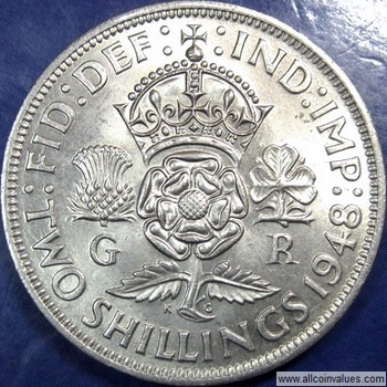 FLORIN GREAT PRICE! UK//GB TWO SHILLINGS VARIOUS DATES