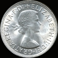 Queen Elizabeth II era Australian florin values