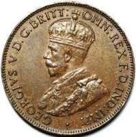 Australian halfpenny coin values