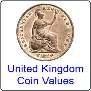 United Kingdom coin values
