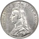 Queen Victoria era UK crown values, jubilee head