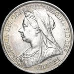 Queen Victoria era UK crown values, veiled head